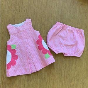 Florence Eiseman baby girl flower dress 6M